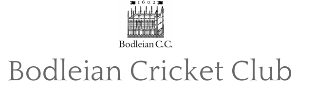 Bodleian Cricket Club